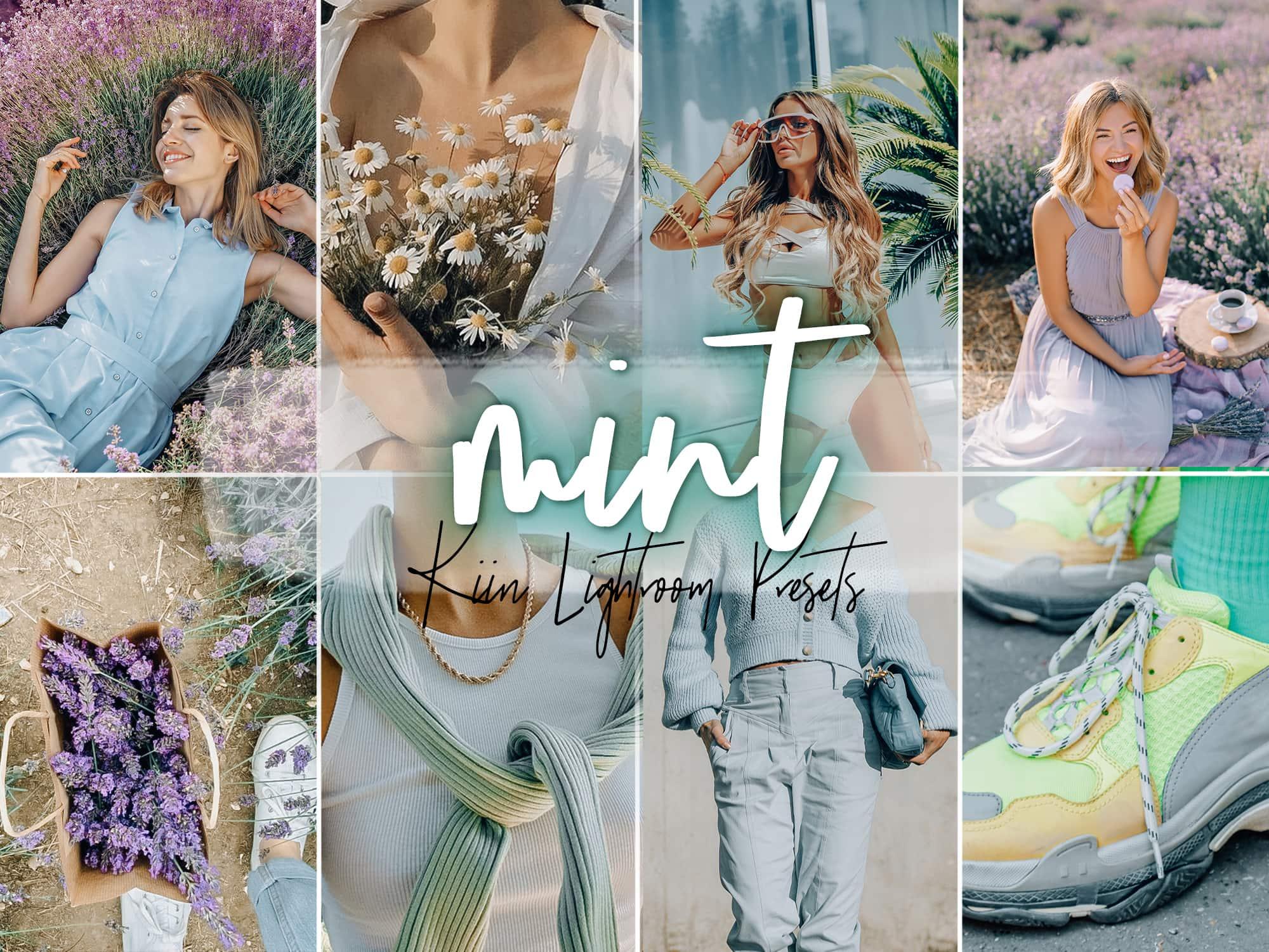 KIIN Lilac Mint Lightroom presets