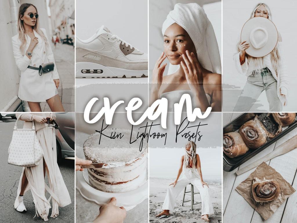 Cream Lightroom Presets by KIIN