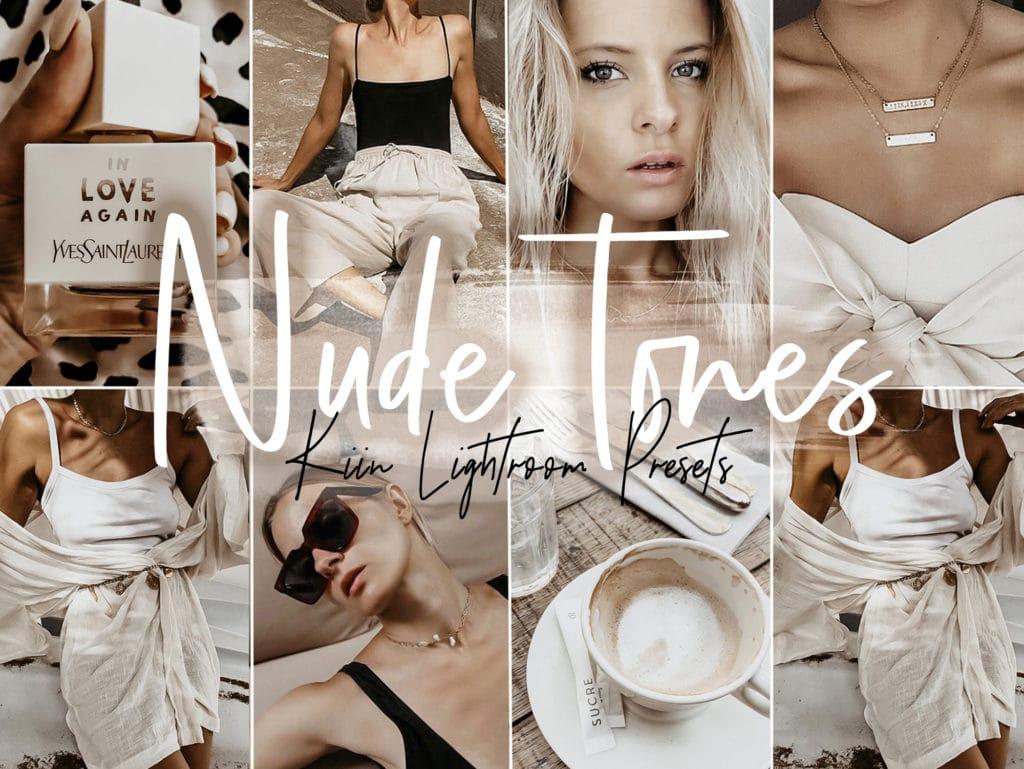 Nude Tone Presets by KIIN