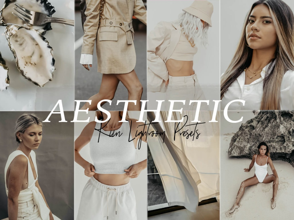 Aesthetic nude cream presets by KIIN - Great for Insta